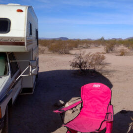 Camped out in southern AZ for some sun!