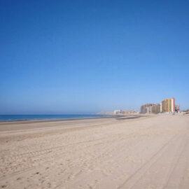 Sandy Beach in Puerto Peñasco (Rocky Point), Mexico
