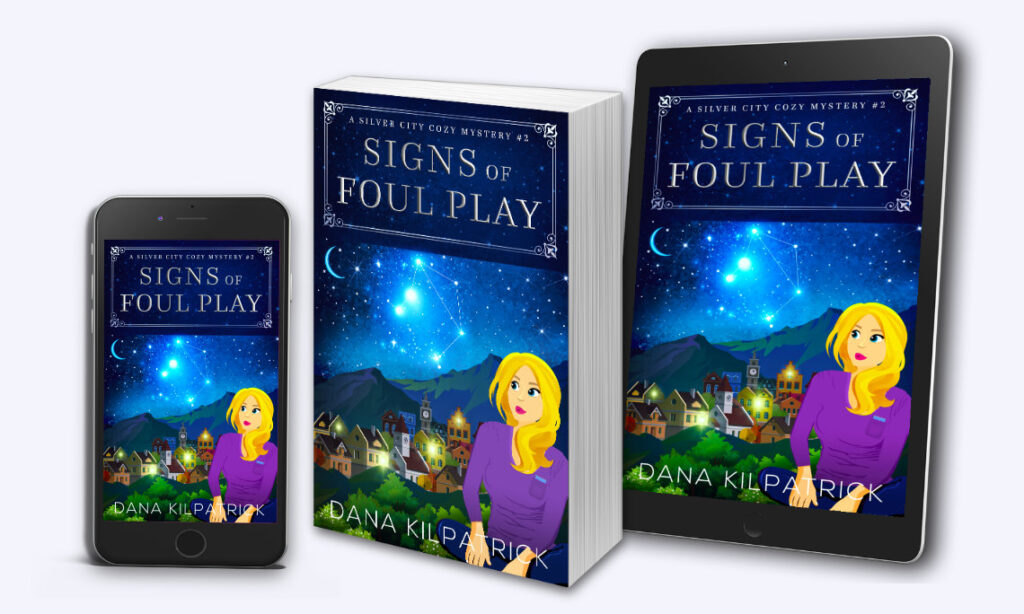 Signs of Foul Play, A Silver City Cozy Mystery